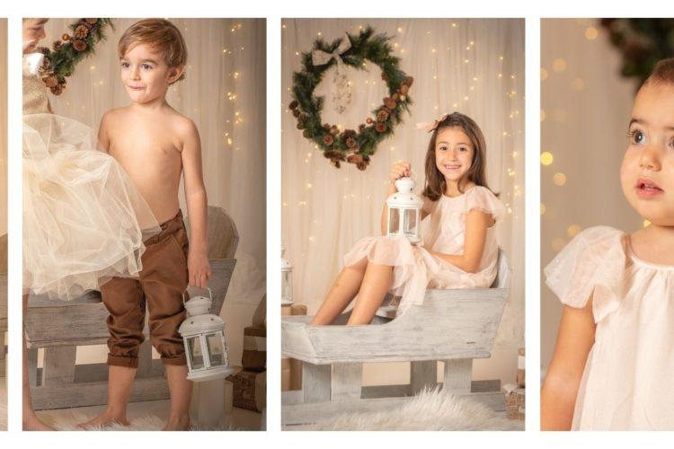 vestuario para fotos de navidad