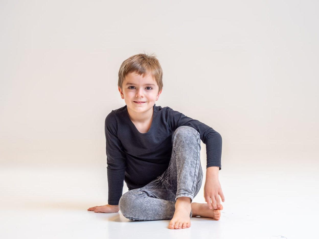 foto infantil en estudio