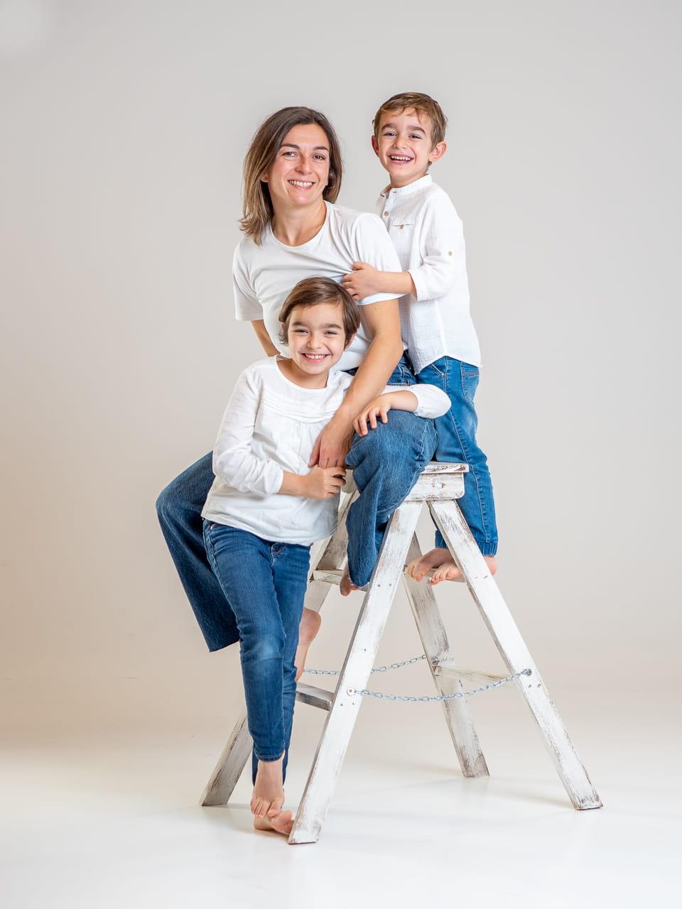 sesión de fotos familia