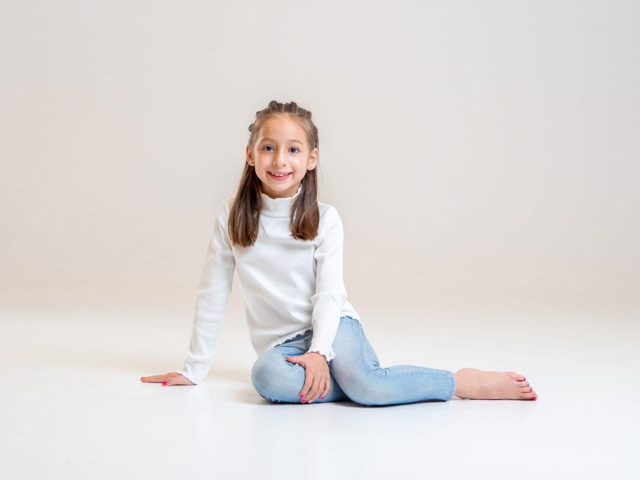 fotografia infantil en estudio