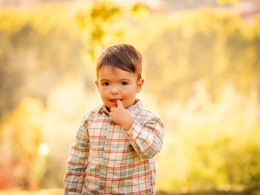 niño foto exterior