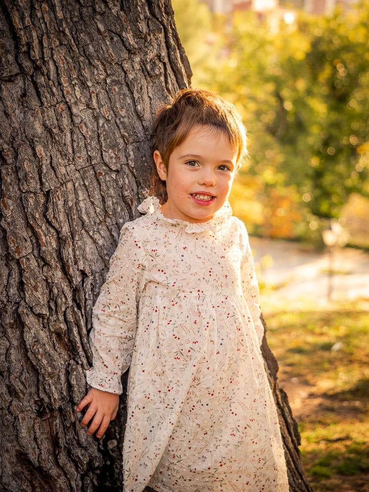 foto infantil exterior
